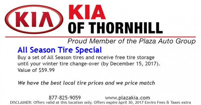 All Season Tire Special