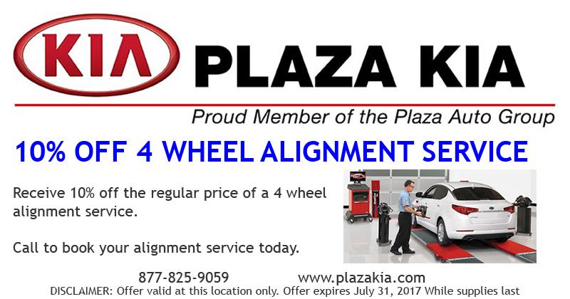 10% Off 4 Wheel Alignment