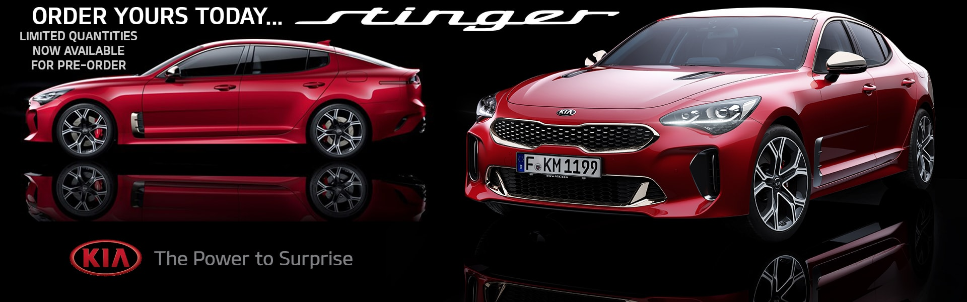 2018 Stinger Now Available For Pre-order
