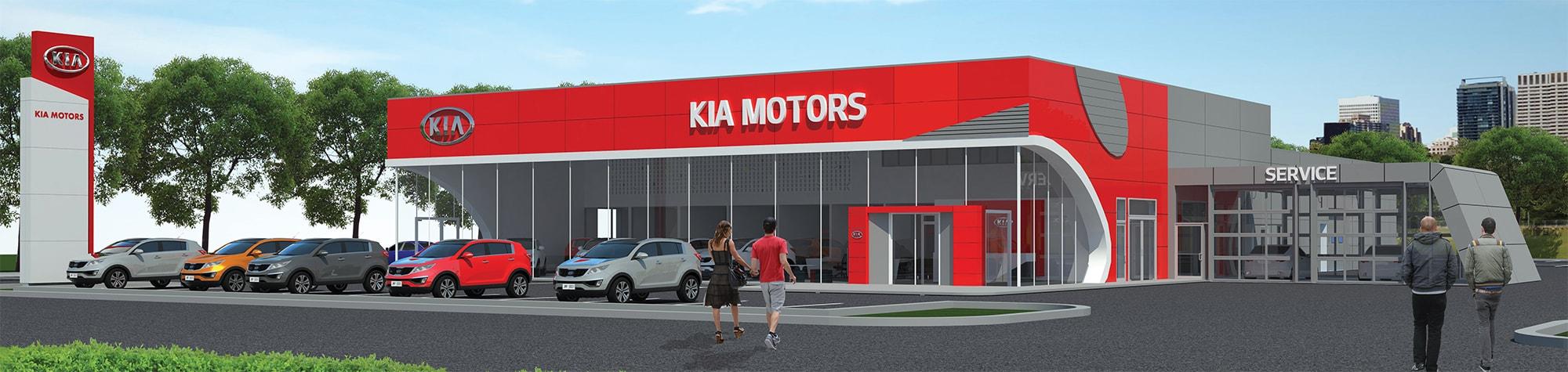 The New Plaza Kia