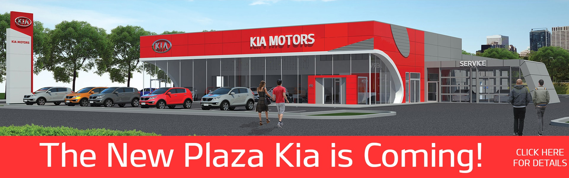 The New Plaza Kia Coming Soon!