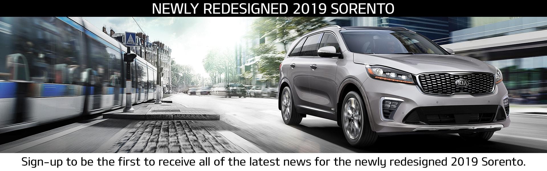 2019 Sorento Coming Soon
