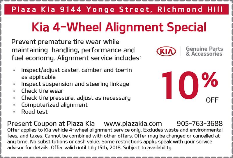 4 Wheel Alignment Offer