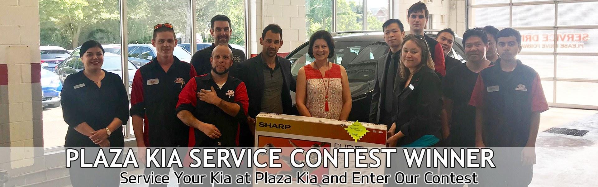 Service Contest Winner