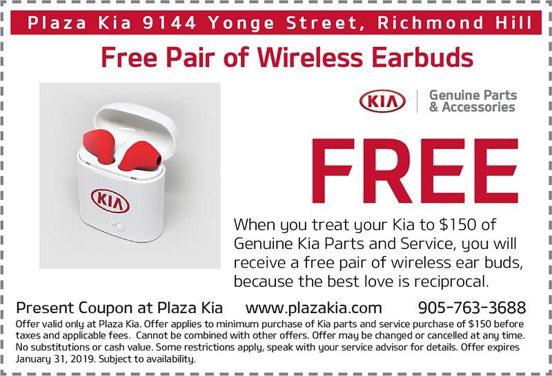 Free Wireless Earbuds