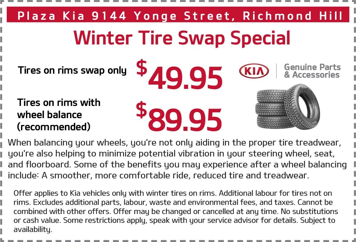 Winter Tire Swap