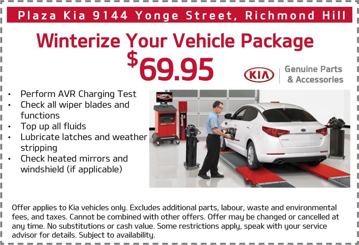 Winterize Your Kia